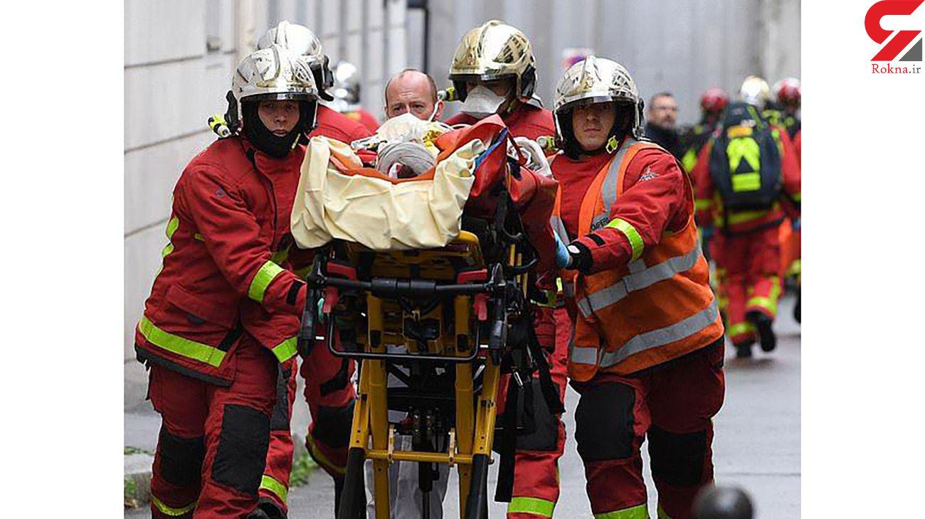 فیلم لحظه حمله مسلحانه به نشریه شارلی ابدو در پاریس