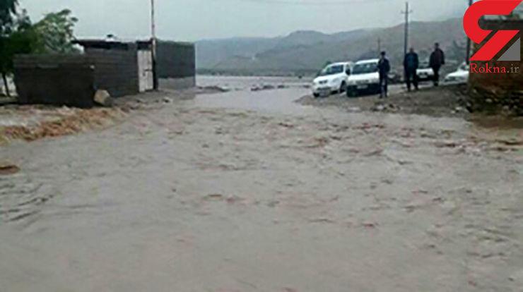 سیل مرگبار در خوزستان +عکس