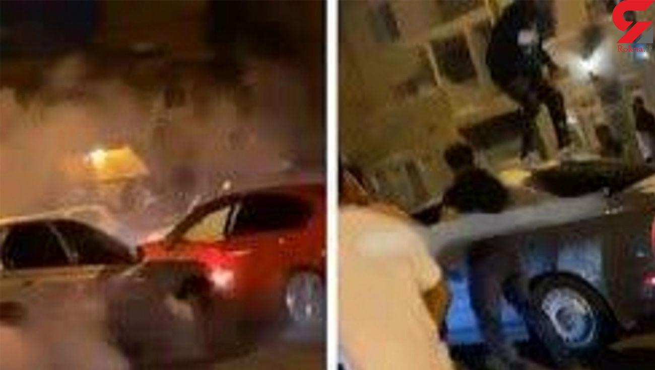 کتک زدن راننده معلول بی گناه توسط مردم + فیلم