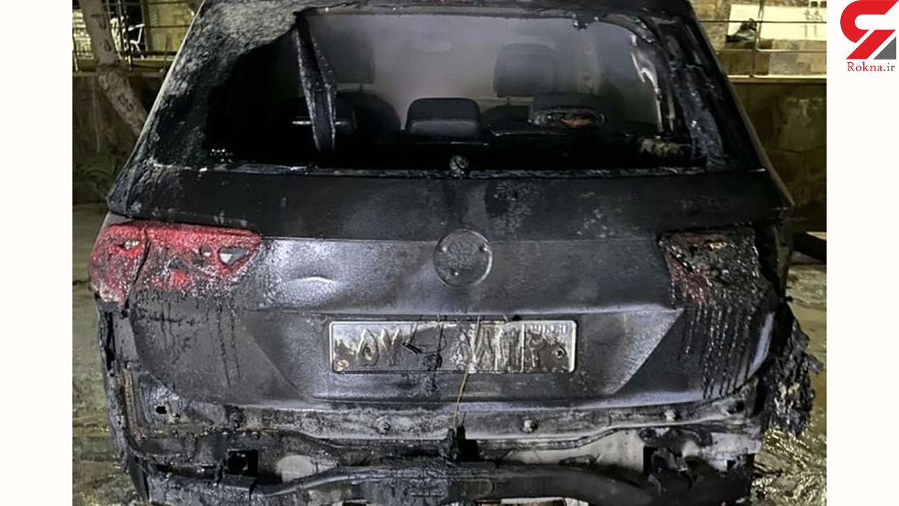 تهدید نیکوکار آملی از قتل تا آتش کشیدن خودرویش + عکس ها