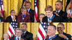 کدام ستاره ها از اوباما مدال گرفتند؟ +تصاویر