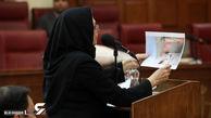 موشکافی خون های پاشیده میترا استاد در جلسه دادگاه  / چرا دایره ای شکل؟! + عکس