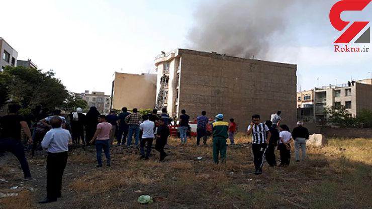 آتش سوزی خونین خانه مرد تهرانی + عکس
