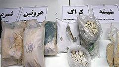 کشف ۳ تن و ۸۰۰ کیلو گرم انواع موادمخدر در مازندران