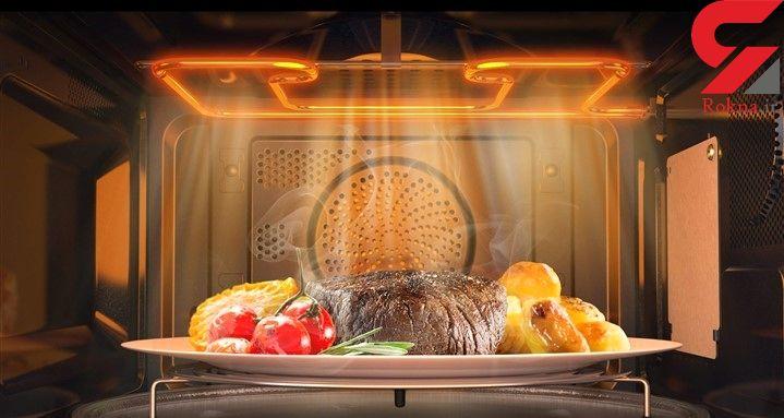 مایکروفرجدید سامسونگ جانشین فرها درآشپزخانه میشود