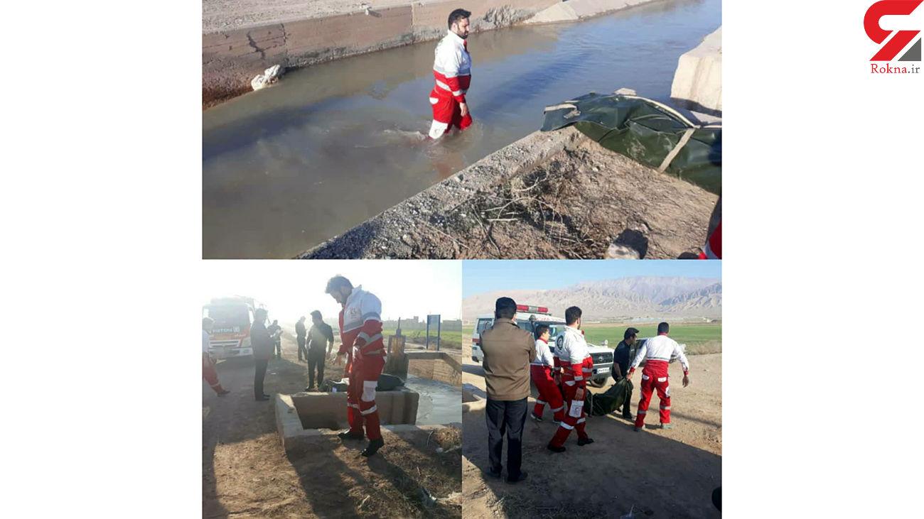 کانال آب آرادان یک مرد را بلعید