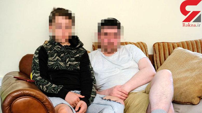 پسر 12 ساله به خاطر لمس چاقو قاتل سریالی شد! +عکس