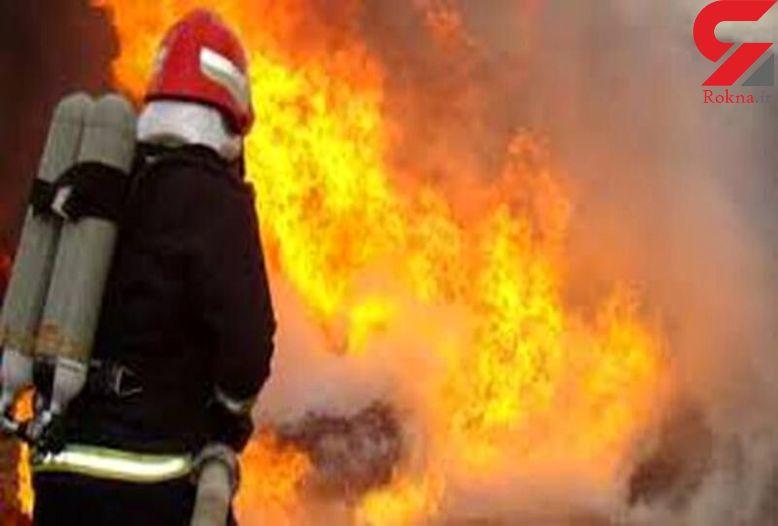 کارگاه تولید مشتقات نفتی در آتش سوخت / نیمه های شب گذشته رخ داد