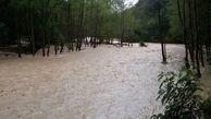 تخریب 3 پل در سیل گیلان ! + فیلم