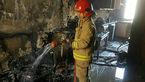 آتشسوزی مغازه کپسول گاز در روستای محمدآباد اطفا شد