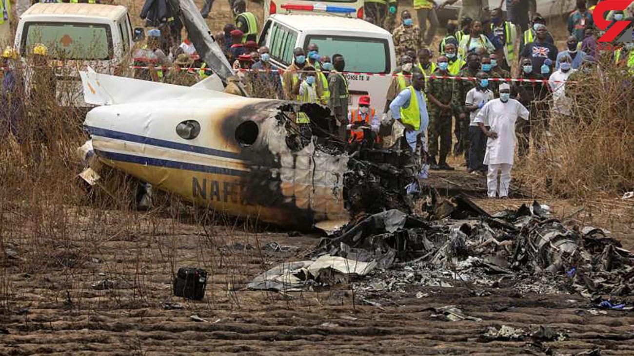 سقوط هواپیما با 7 کشته