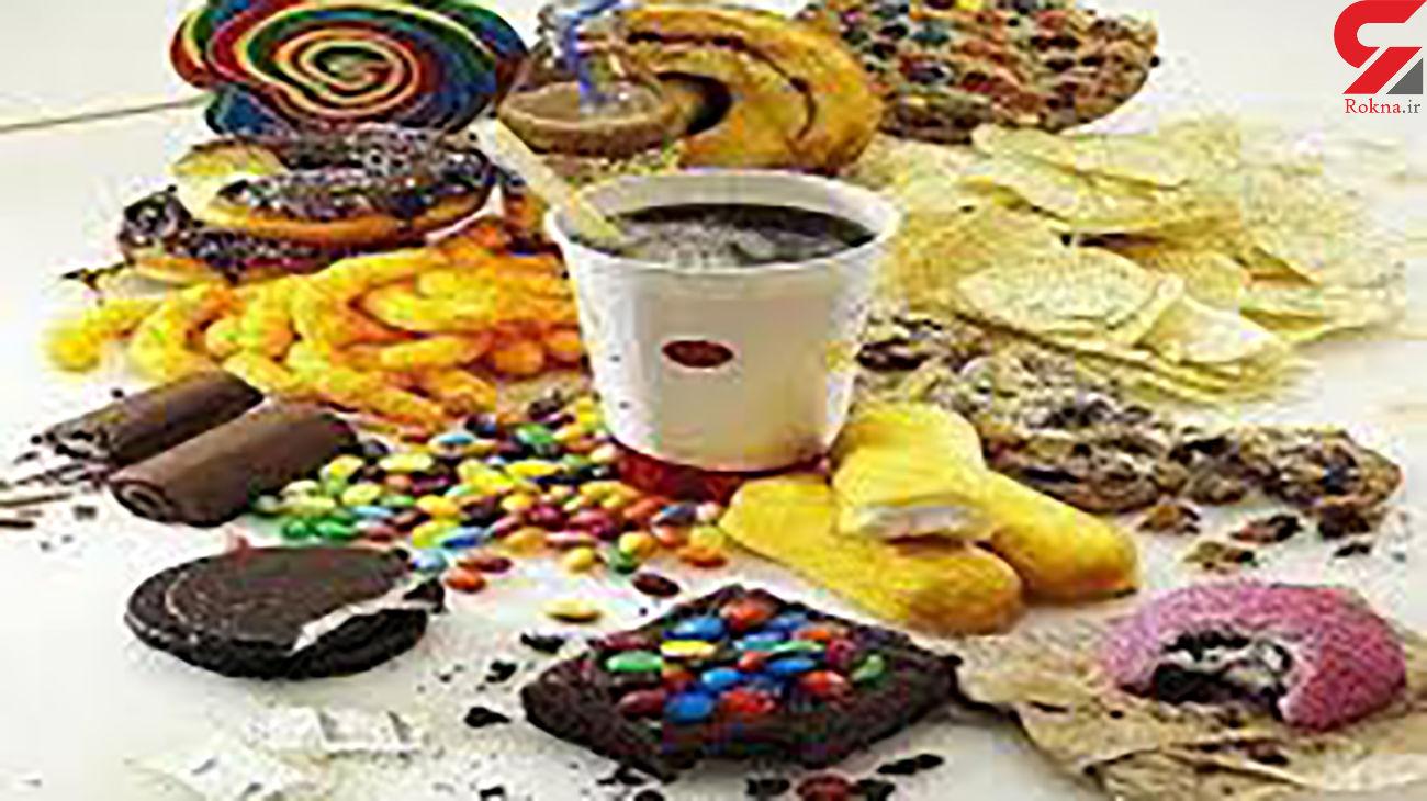 خطر رژیم غذایی غنی از فروکتوز