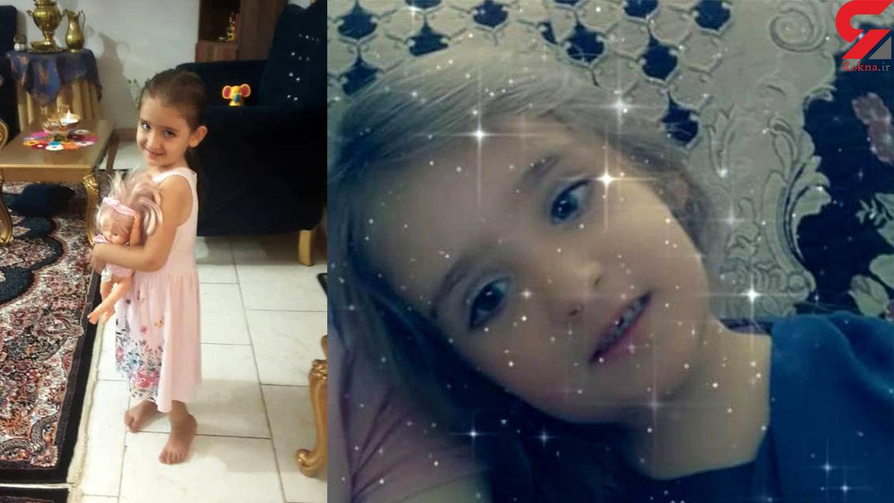حنانه کوچولوی موطلایی اشک همه را درآورد / او فرشته ماند + فیلم و عکس