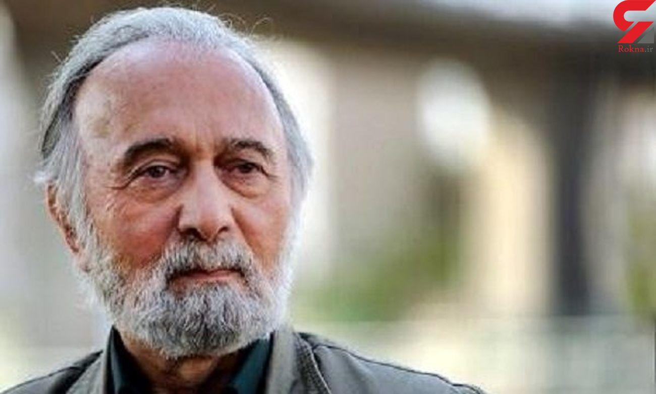 پرویز پور حسینی بازیگر سینمای ایران کرونا گرفت / دعا کنید + عکس