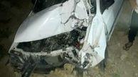 یک کشته در تصادف پراید با موتورسیکلت  در چرام