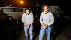 آخرین لحظات زندگی دو اعدامی اختلاسگر امروز صبح در تهران +گزارش تصویری