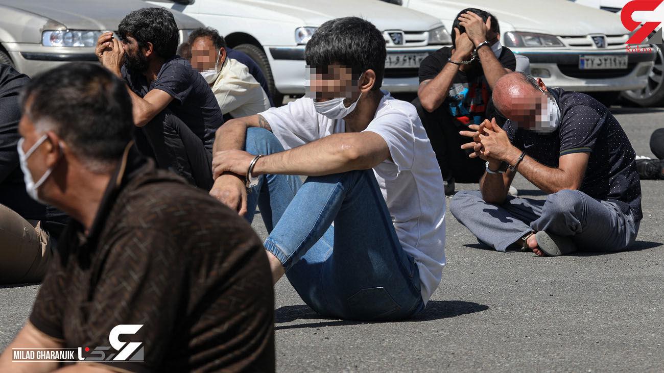 کفتار های پلیسنما  وحشت خارجی ها در آستارا بودند