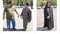 زن جوان سردسته باند آدم ربایی بود / او مرد دارابی را دزدید تا به ثروت برسد + عکس