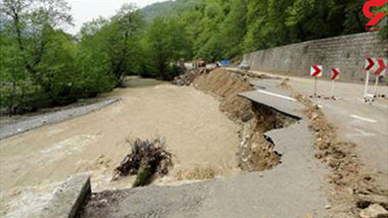 سیل پشت دروازه های 8 شهرستان مازندران / مسافران هشدارها را جدی بگیرند