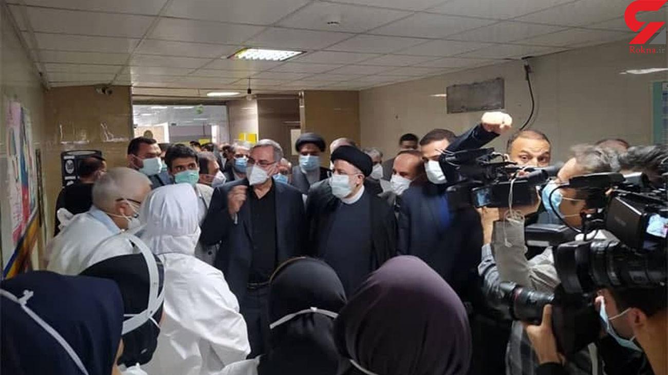 بازدید رئیس جمهور از بیمارستان رازی اهواز