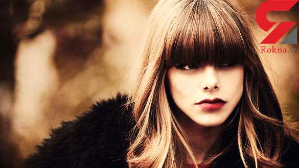 جدیدترین مدل موی چتری دخترانه