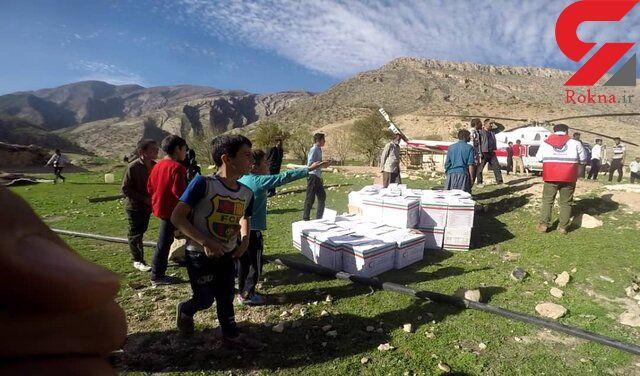 امدادرسانی هلال احمر همدان به سیلزدگان گلستان و لرستان