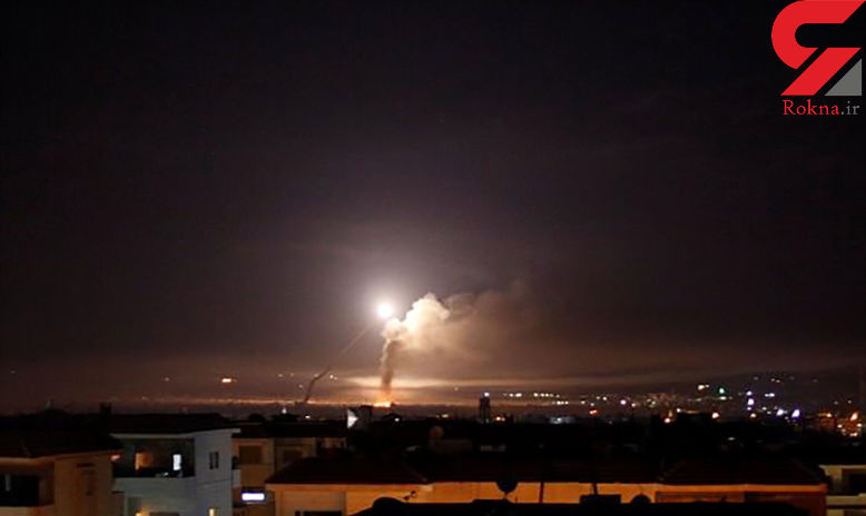 فیلم حمله سنگین سوریه به اسرائیل/ موشک ها پایگاه های صهیونیستی را منفجر کرد + عکس