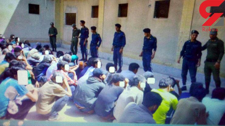 پاتک پلیس به مخفیگاه 40 تبهکار خیابانی در مشهد