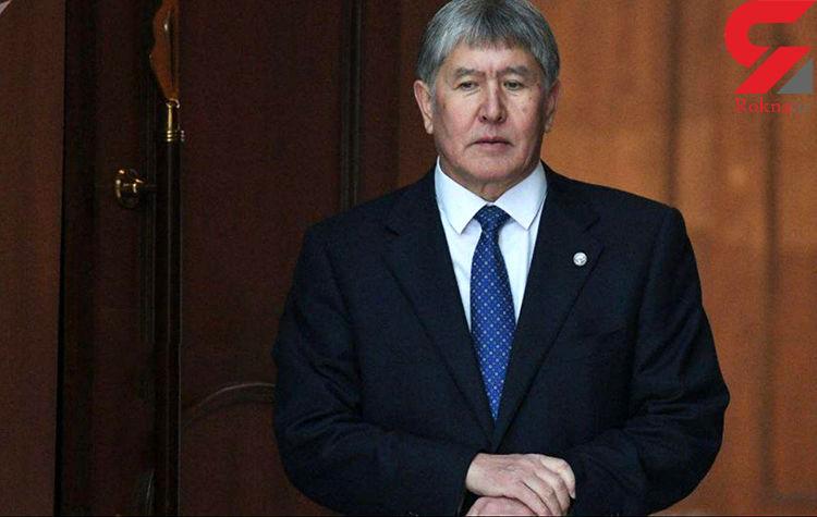 دستگیری رئیس جمهوری قرقیزستان / او به مکانی نامعلوم منتقل شد+ عکس