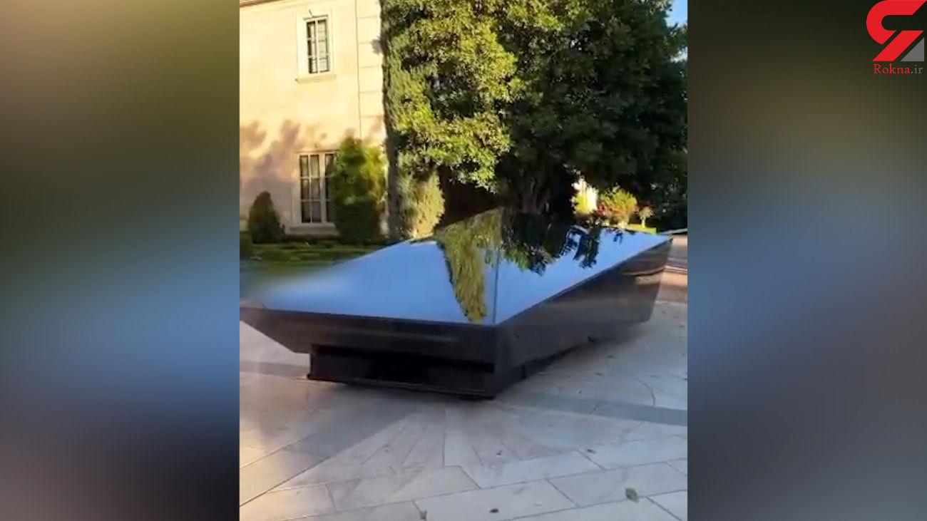 عجیب ترین ماشین را ببینید + فیلم