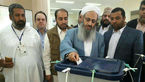 مولوی عبد الحمید در انتخابات 96 شرکت کرد +عکس