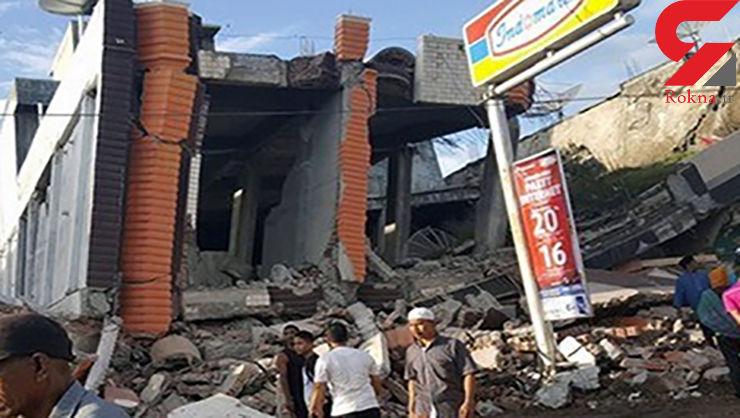 شمار تلفات زمینلرزه در اندونزی به ۳۸۰ نفر رسید/۱۳ هزار نفر مجروح شدند