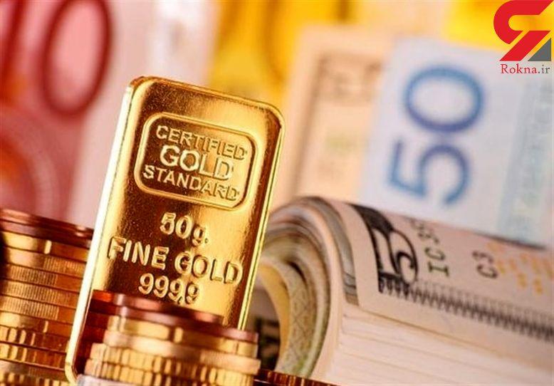 قیمت طلا و سکه و ارز در بازار امروز