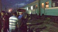 برخورد قطار با اتوبوس شهری در قزاقستان / 10 قربانی در این خادثه مرگبار