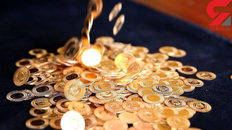 قیمت طلا و سکه امروز ۱۶ مهر ۹۸