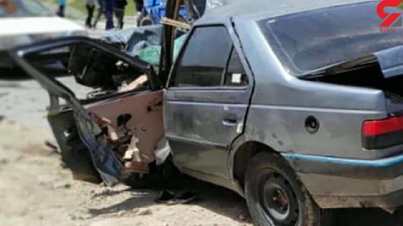 تصادف مرگبار در جاده شازند - بروجرد با 3 کشته