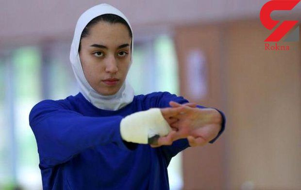 اولین عکس کشف حجاب شده کیمیا علیزاده تکواندوکار المپیکی ایران  + عکس