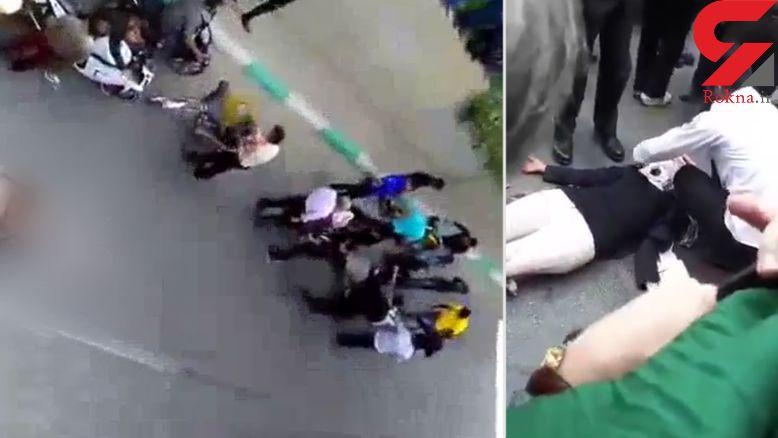 فیلمی از خودکشی 2 دختر اصفهانی بخاطر بازی نهنگ آبی