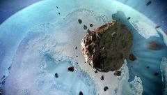 کشف شهابسنگ ۱۲ میلیارد تنی ۱۲هزارساله زیر یخهای گرینلند +عکس