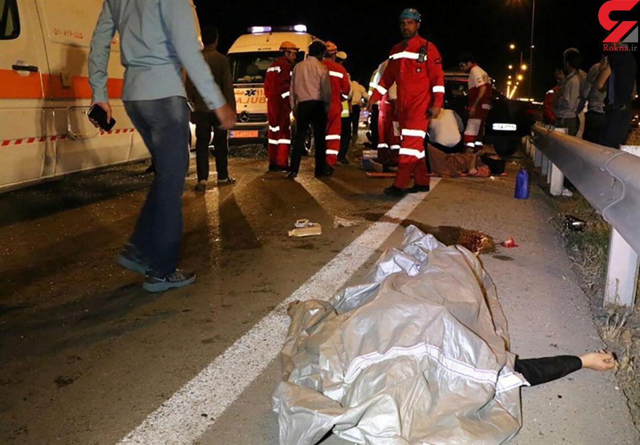 راننده پژو عابر پیاده را له کرد / در جاده مراغه رخ داد