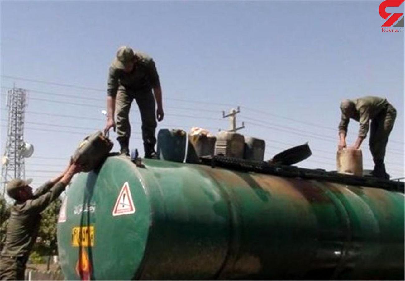 کشف 13 هزار لیتر فرآوردههای نفتی قاچاق در تهران
