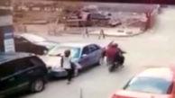 سرنوشت دردناک 2 خلافکار در خیابان+فیلم