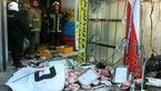 پرس شدن مرد 60 ساله در مغازه پروتئینی در تهران + عکس