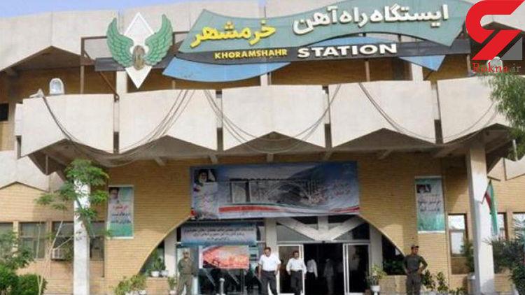 قطار خرمشهر - تهران تا اطلاع ثانوی تردد ندارد