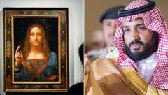 کلاه رفتن سر ولیعهد سعودی برای یک تابلوی جعلی