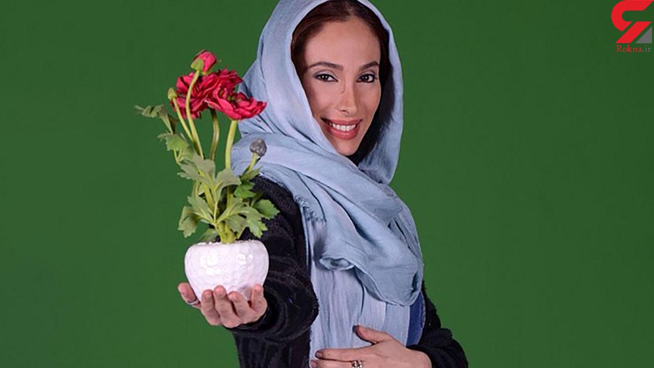 این خانم بازیگر اصرار به روابط منشوری در سینمای ایران دارد + عکس