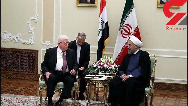 روسای جمهور ایران و عراق دیدار کردند