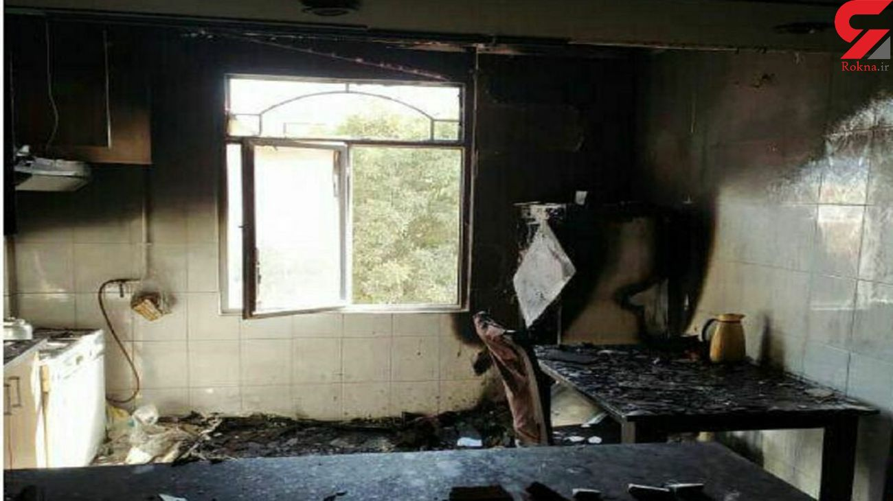 نوسانات برق یک منزل مسکونی در خرمآباد را به آتش کشید