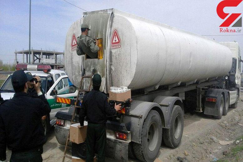 کشف ۲۰ هزار لیتر سوخت قاچاق در میناب
