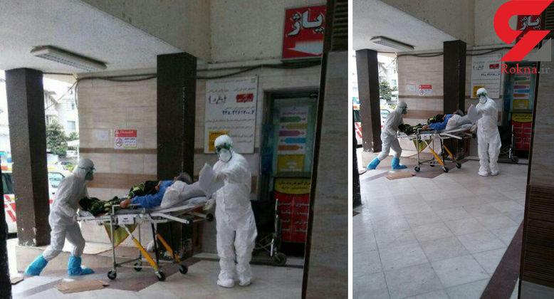 دامدار کلاردشتی با  تب کنگو در بیمارستان ساری / ساروی ها نگران نباشند+ عکس